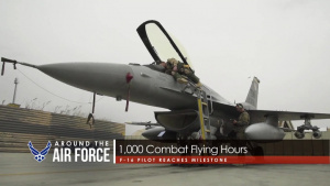 Around the Air Force: Sexual Assault Awareness / 1,000 Combat Flying Hours / 1,000 Continuous Sorties