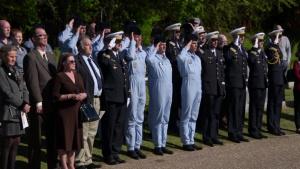 U.S. Honors French Sacrifice