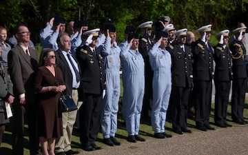 U.S. Honors French Sacrifice