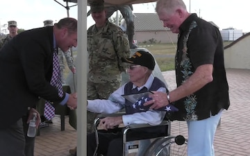 WWII Veteran Gets Medals After 71 Years