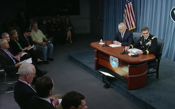 Defense Secretary and Centcom Commander Conduct Joint Briefing