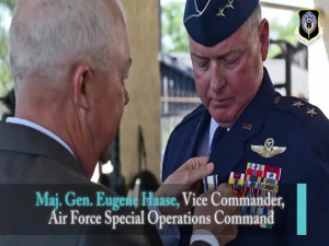 AFSOC Vice Commander, Maj. Gen. Eugene Haase Retires