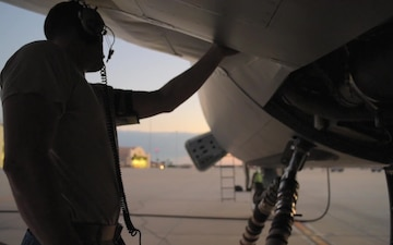 Tanker Aircraft Maintenance B-Roll