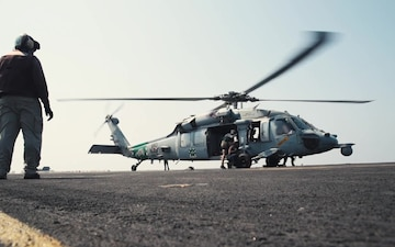 Operational Documentation ICO Operation Inherant Resolve 2016 USS Dwight D. Eisenhower (CVN 69)