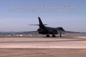Ellsworth B-1s depart for Doolittle Tokyo Raid ceremonies