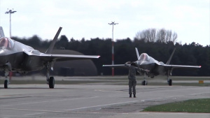 Air Force Report: F-35 U.K. Arrival