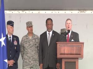 Mayor Gives Key To Maxwell Base Leadership