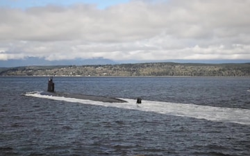 USS Jimmy Carter (SSN 23) Returns Home