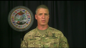 OIR Commander Briefs Media