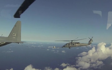 Silicon Valley Air National Guard Unit Conducts Overwater Rescue for 1,016th Life Saved
