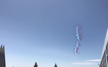 Patrouille de France Flyover at the U.S. Air Force Academy