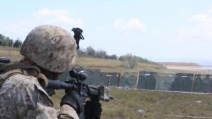 3/2 conducts squad firing drills