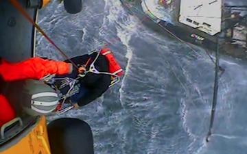 Coast Guard conducts medevac 65 miles south of Montauk, N.Y.