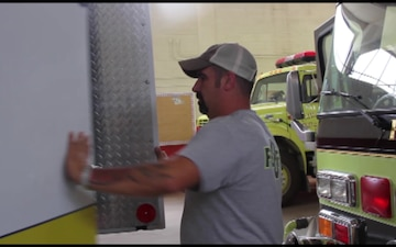 Fair Bluff Fire & Rescue Get a New Home from the NCNG