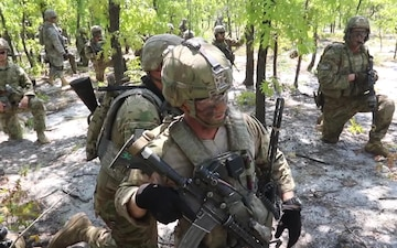 Paratroopers, Multi-dimensional live-fire exercise