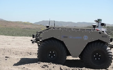 Advanced Naval Technology Exercise Tests MUTTs for Marine Corps Equipment Carrier