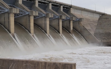 Kaw Lake Releases 20,000 Cubic Feet Per Second