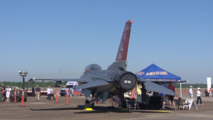 187th FW F-16 Static Display at 2017 Maxwell AFB Air Show