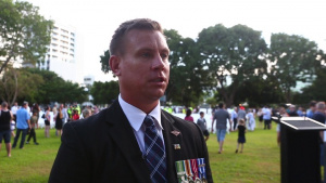 U.S. Marines Observe ANZAC Day in Australia