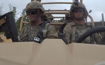 Paratroopers drive new battlefield vehicles