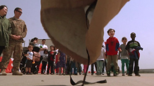 Kindergarten Class Visits Humphreys Airfield