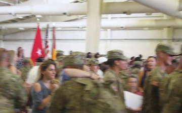 3rd Battalion, 321st Field Artillery Regiment Redeploys