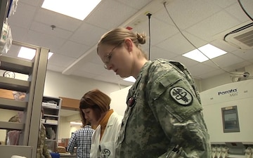 21st TSC Soldier Spotlight: Jennifer Hug, the Pharmacist and Reservist