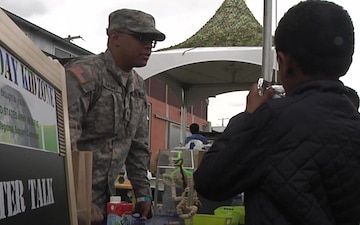 63rd RSC commanding general raises awareness for Earth Day in multiple communities