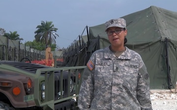 Sgt. 1st Class Kateema Seales Mothers Day Greeting
