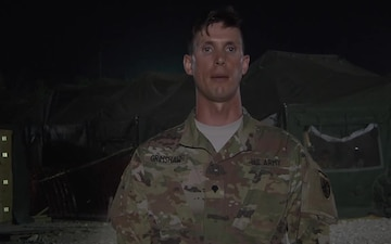Spc. Kyle Grimshaw Mothers Day Greetings