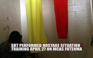 Marine Corps SRT Hostage Training Situation