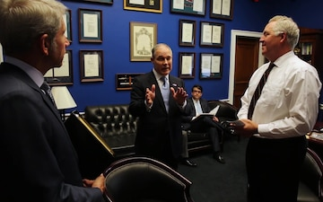 EPA Administrator Pruitt and Representative Shimkus meet to discuss environmental and economic issues