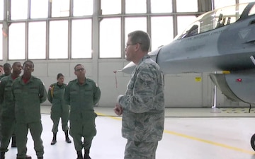Capital Guardian Youth ChalleNGe Academy cadets visits 113th Wing