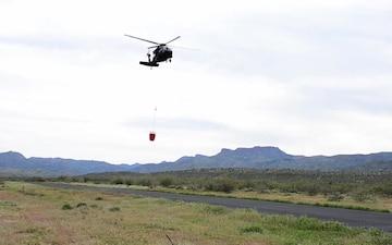 2107 Water Bucket Training Arizona National Guard