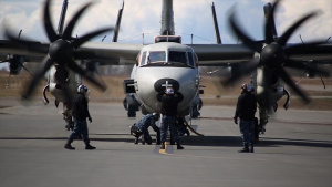 B-Roll | Navy E-2C Hawkeye participates in Northern Edge 2017
