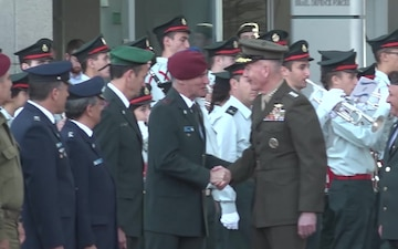CJCS Dunford Received by IDF Honor Guard