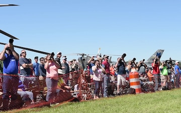 SC Guard Expo Combined Arms Demo and Air Show B-Roll