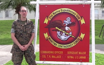 Lance Cpl. Ashley Schaffer Mother's Day shout outs