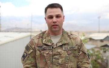 Chief Warrant Office 2 Mother's Day Greeting from Afghanistan