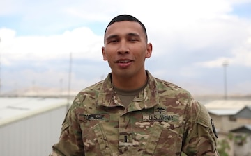 1st Lt. Wes Tomokane Mother's Day Greeting from Afghanistan
