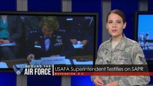 Around the Air Force: X-37B Returns/SAPR Testimony