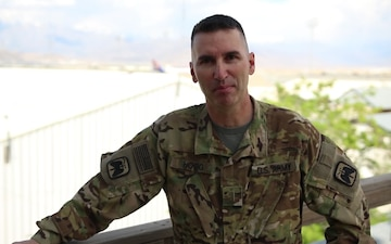 Chief Warrant Officer 5 Jay Hogg Mother's Day Greeting from Afghanistan