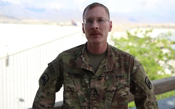 Sgt. 1st Class Matthew Beaupre Mother's Day Greeting from Afghanistan