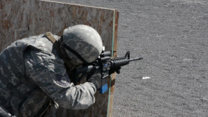 Shoot, Move, Communicate with New Mexico Air National Guard Members