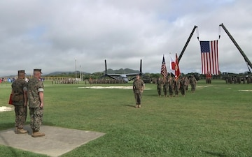 III MEF Sergeant Major Relief, Appointment, and Retirement Ceremony