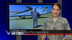 Around the Air Force: Wilson Confirmed/Test Pilots/Cricket Hair Tech
