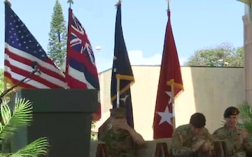 SOCPAC Change of Command Ceremony