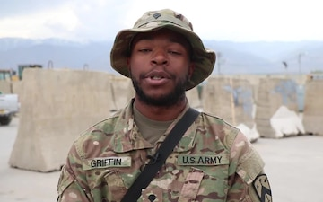 Spc. Jequan Griffin - Mother's Day Shoutout