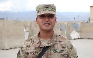 Spc. Joey Sarivong - Mother's Day Shoutout