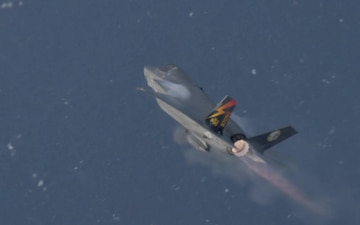 Naval Aviation History | F-35B STOVL Airborne Gunfire Testing Complete